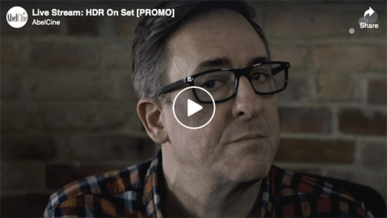 Live Stream: HDR On Set [PROMO]
