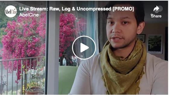 Live Stream: Raw, Log & Uncompressed [PROMO]